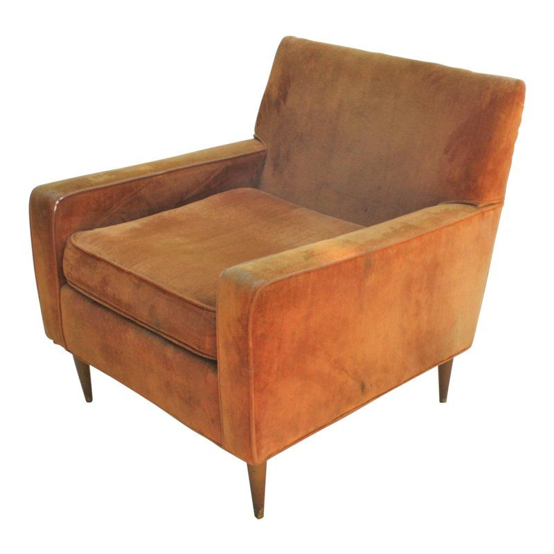 Mid Century Lounge Chair Leather Chair With Ottoman White