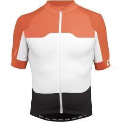 Poc Avip Short-Sleeve Ceramic Jersey | M,l,xl | Colorblock / Orange / Schwarz / Weiß | Unisex Pocpoc #shortsleevetee