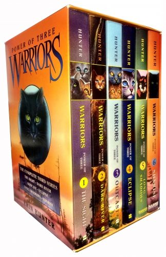 Warrior Cats Power Of Three Collection Of 6 Books By Erin Hunter