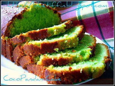 Dapur Tanpa Sempadan Cocopandan Cake