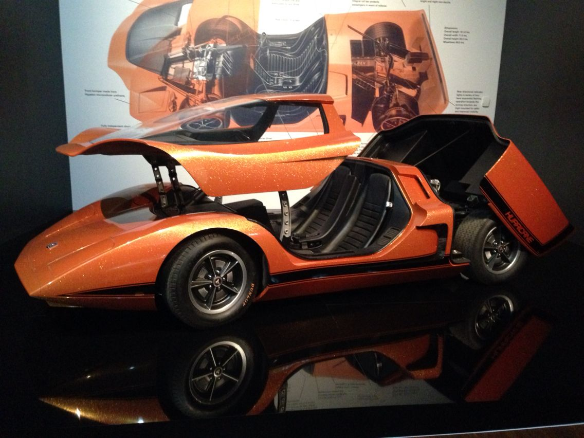 holden hurricane concept car at ngv ian potter gallery melbourne