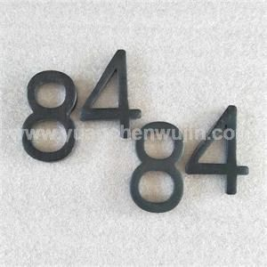 stamped carbon steel small metal letters and numbers nonstandardmetalprocessing process punching cutting grinding application product coding
