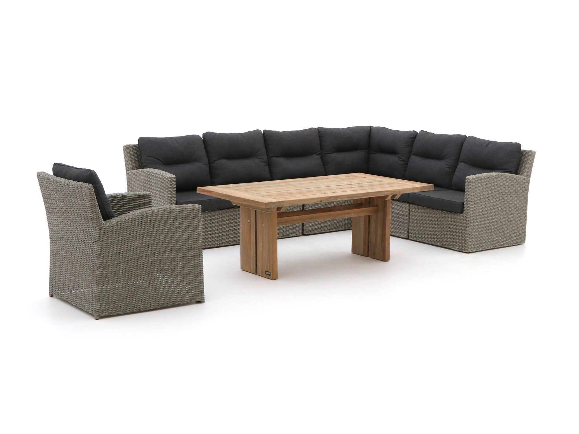 Intenso Fellini Rough L Esstisch Lounge Set 8 Teilig Gartenmobel Lounge Mobel Haus Deko