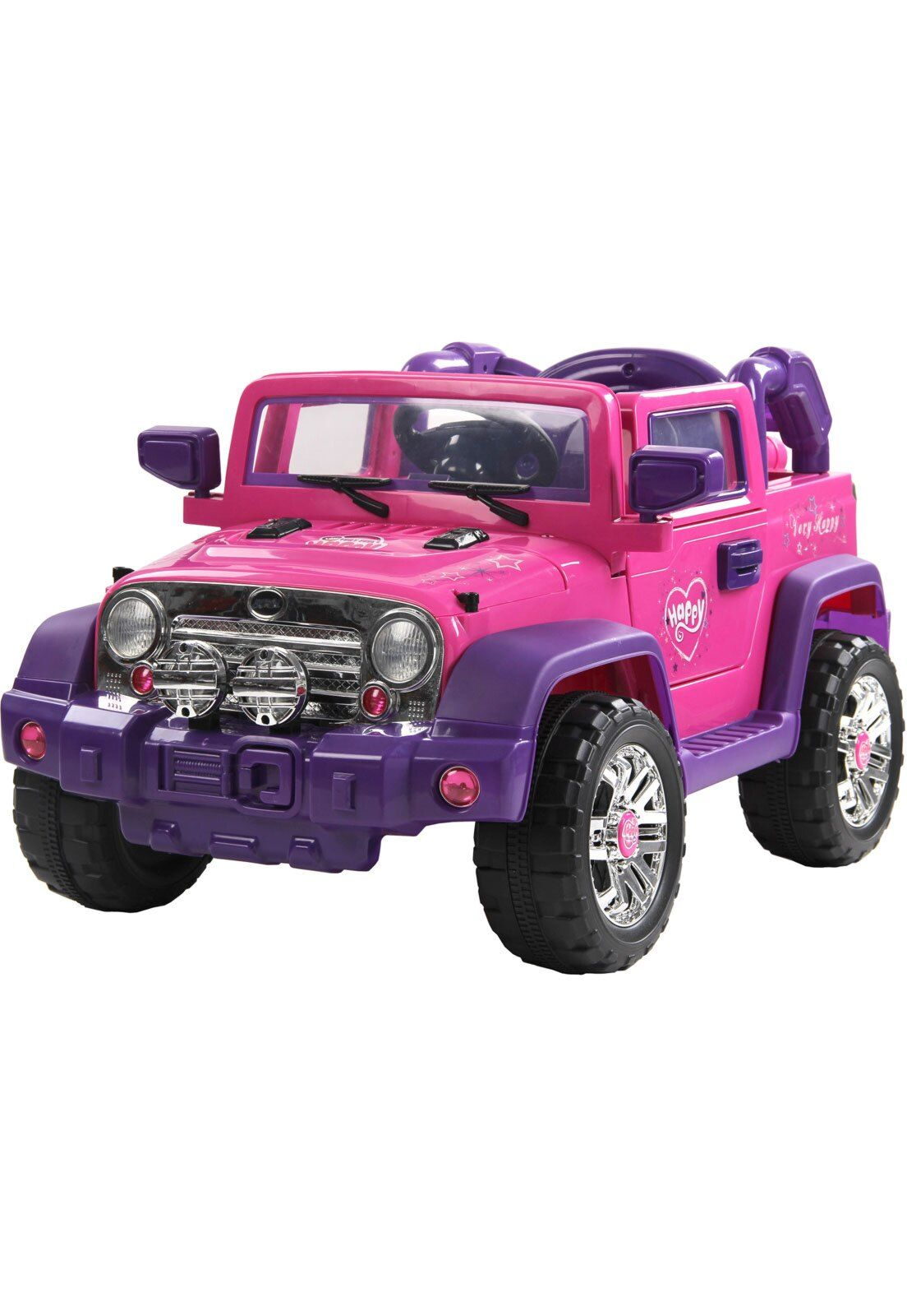 Jipe Eletrico 12v Rali Pink Com Controle Remoto Belfix Jipe Controle Remoto E Carro Eletrico Infantil