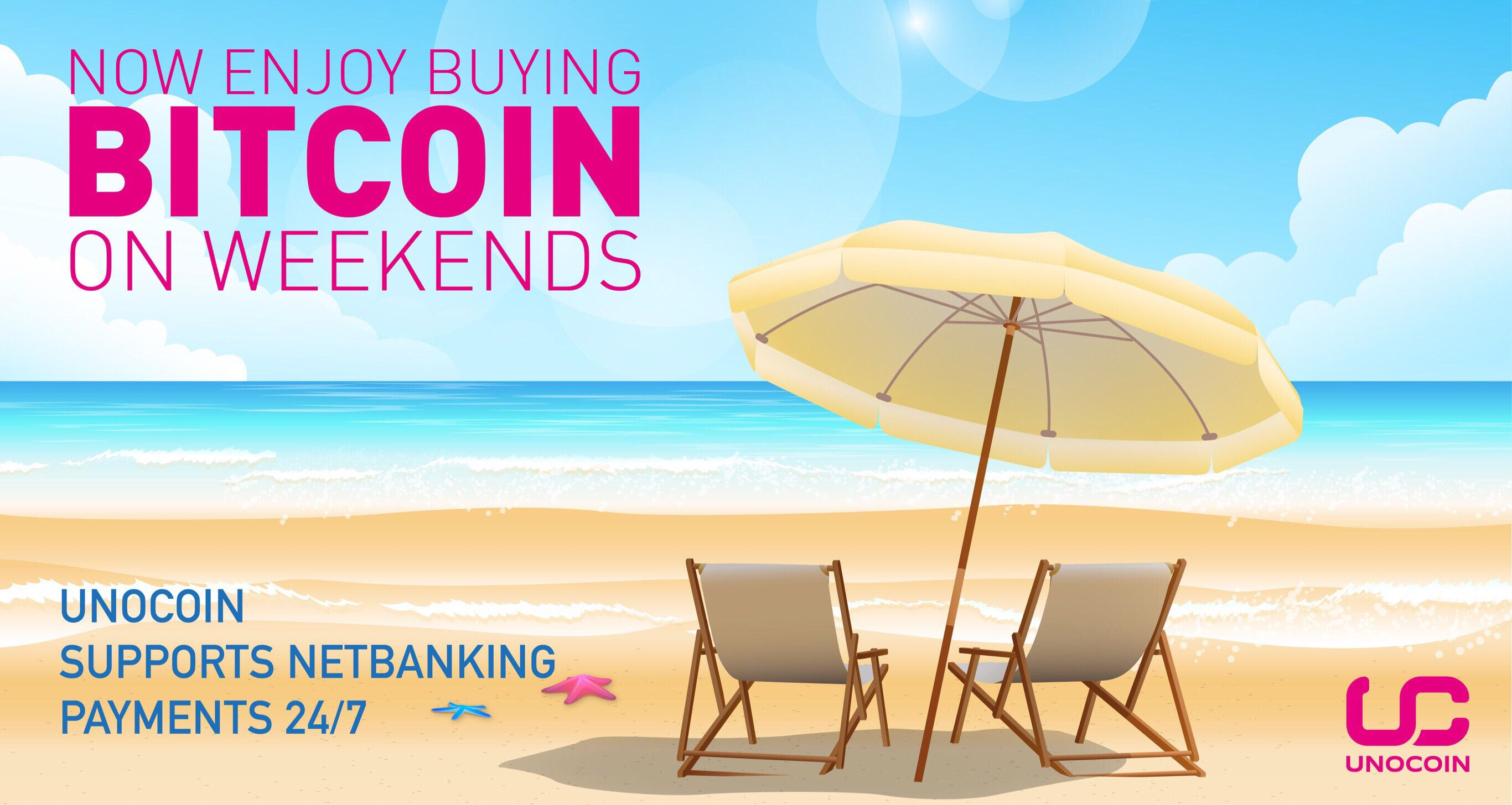 Usebanking To Buy #bitcoin Instantly, Even During The Weekends!  Download Unocoin Mobile