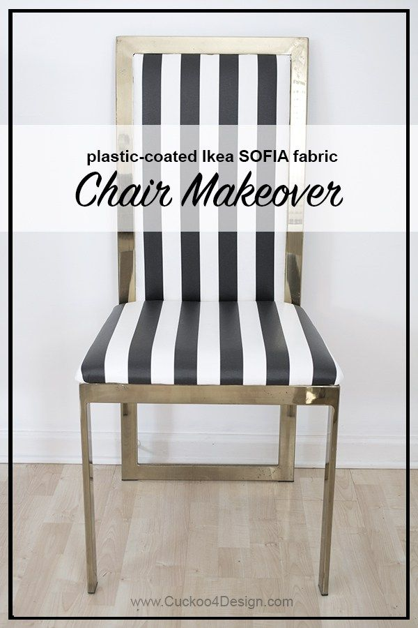 Black And White Brass Parsons Chair Covers Makeover Chair Makeover Furniture French Dining Chairs