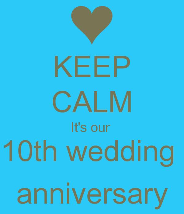 10 Year Wedding Anniversary Quotes Bigoo