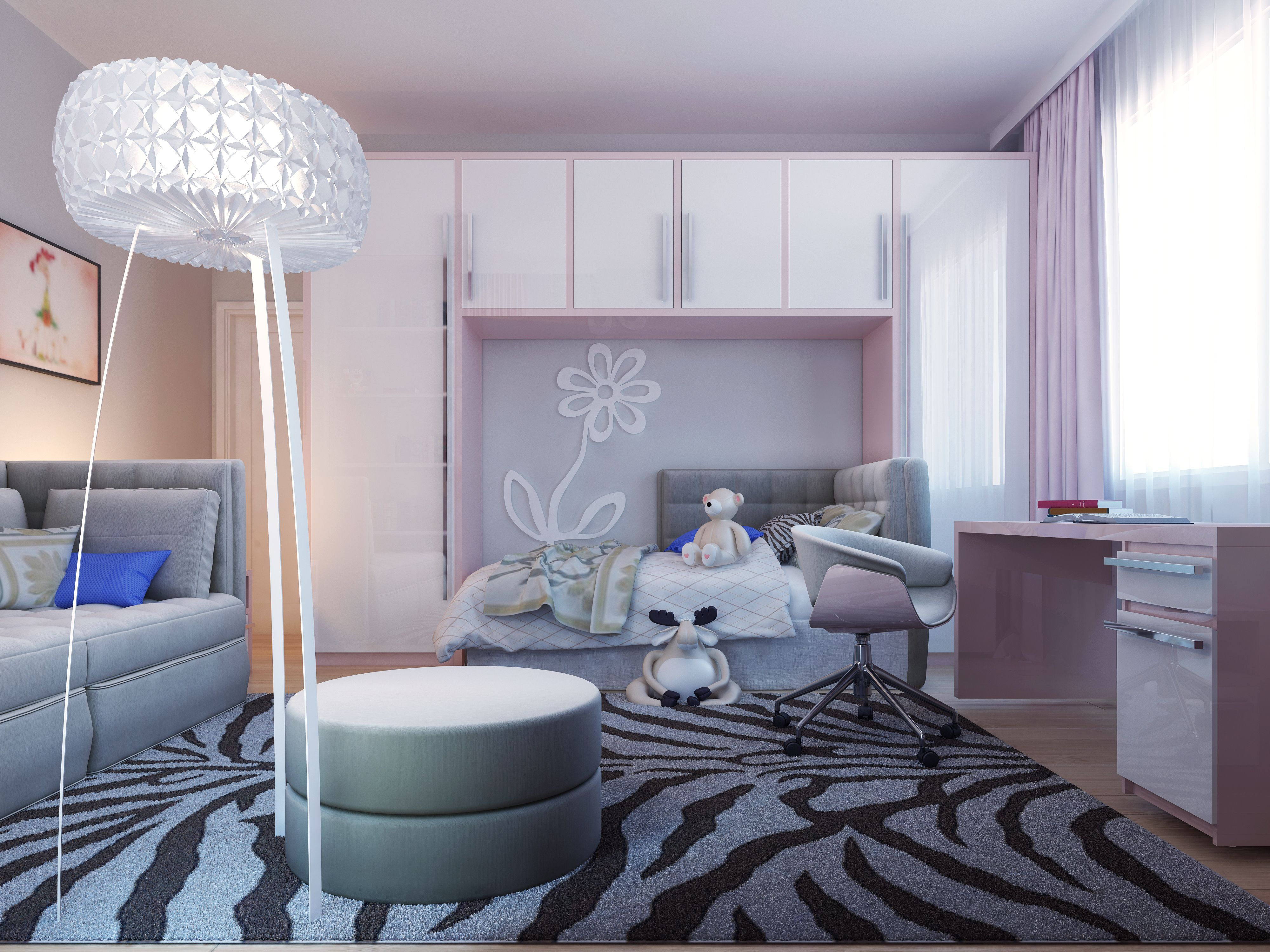 Girly bedroom design | kids dream room | Kid