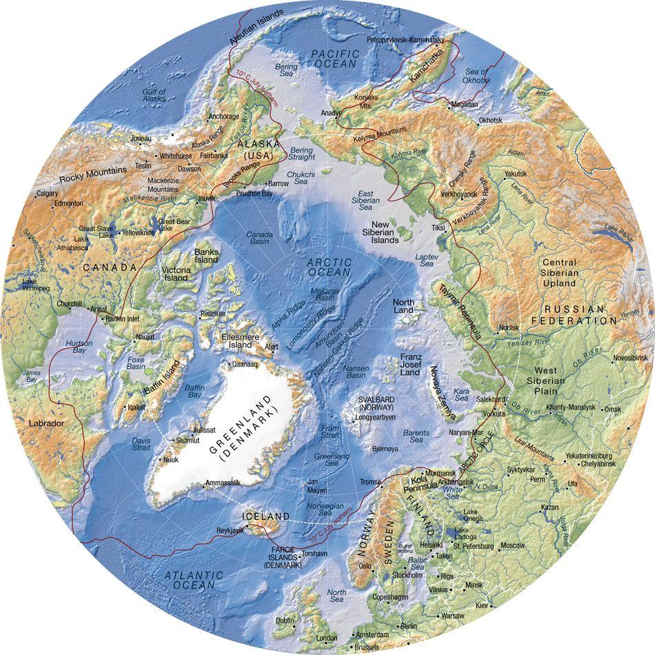 Detailed flat earth map  AlaskaCanadaCoriscaEngeland