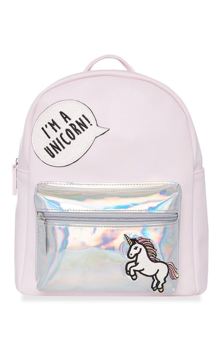 45e6fc4da50 Primark - Unicorn Backpack | Accessories Inspiration in 2019 ...