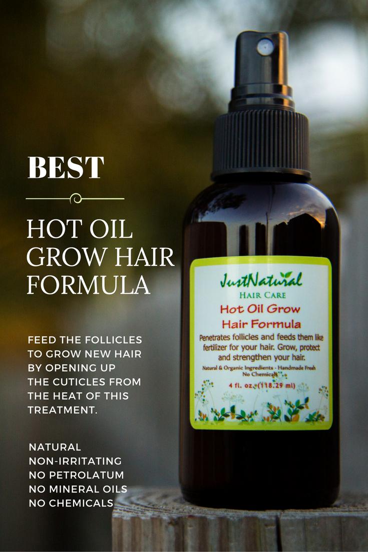 Hot Oil Grow Hair Formula Oils Just Nutritive Grow