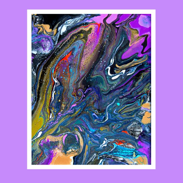 (1432) Expressionist Art Studio Gallery Priscilla Batzell