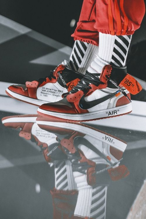 7df366e6dd2 OFF-WHITE x Nike Air Jordan 1 | All Things Good | Adidas sneakers ...