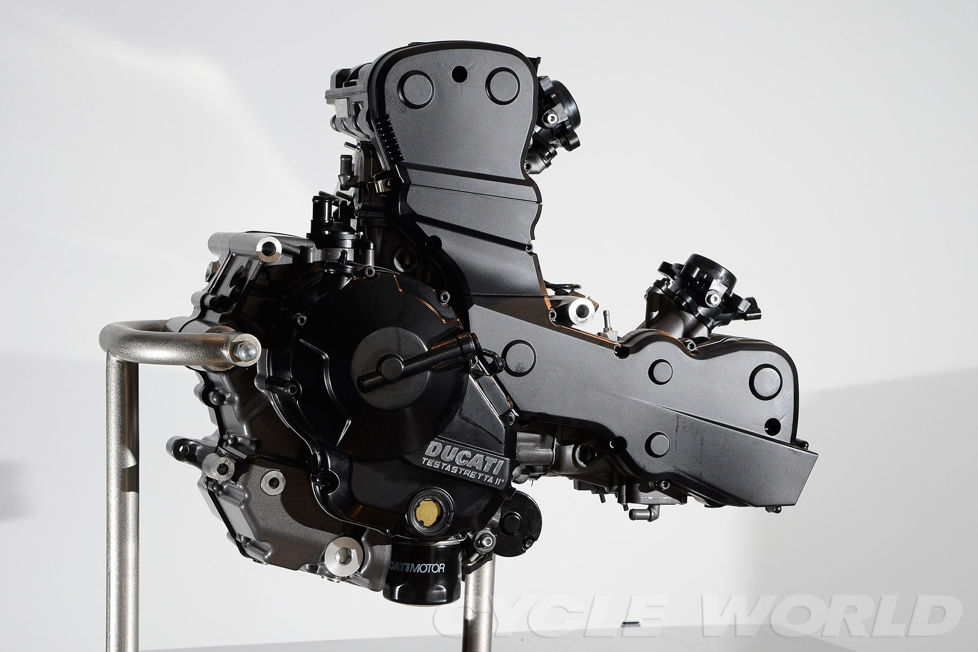 2013 Ducati Hypermotard SP - engine