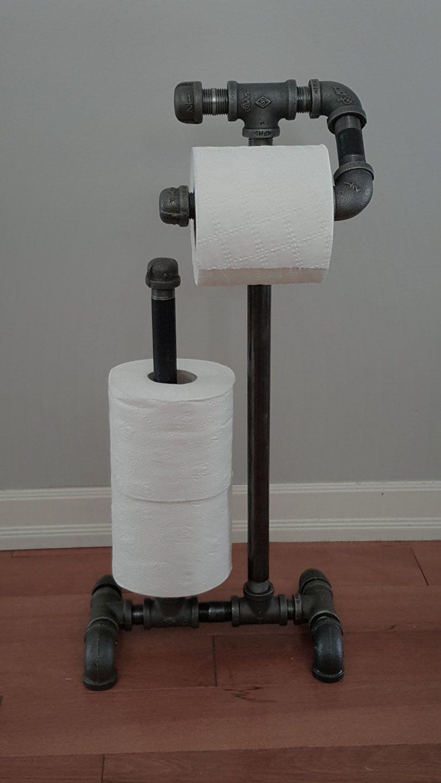 Olsenindustrialdecor Industrial Home Design Toilet Paper Holder Industrial Toilet Paper Holder