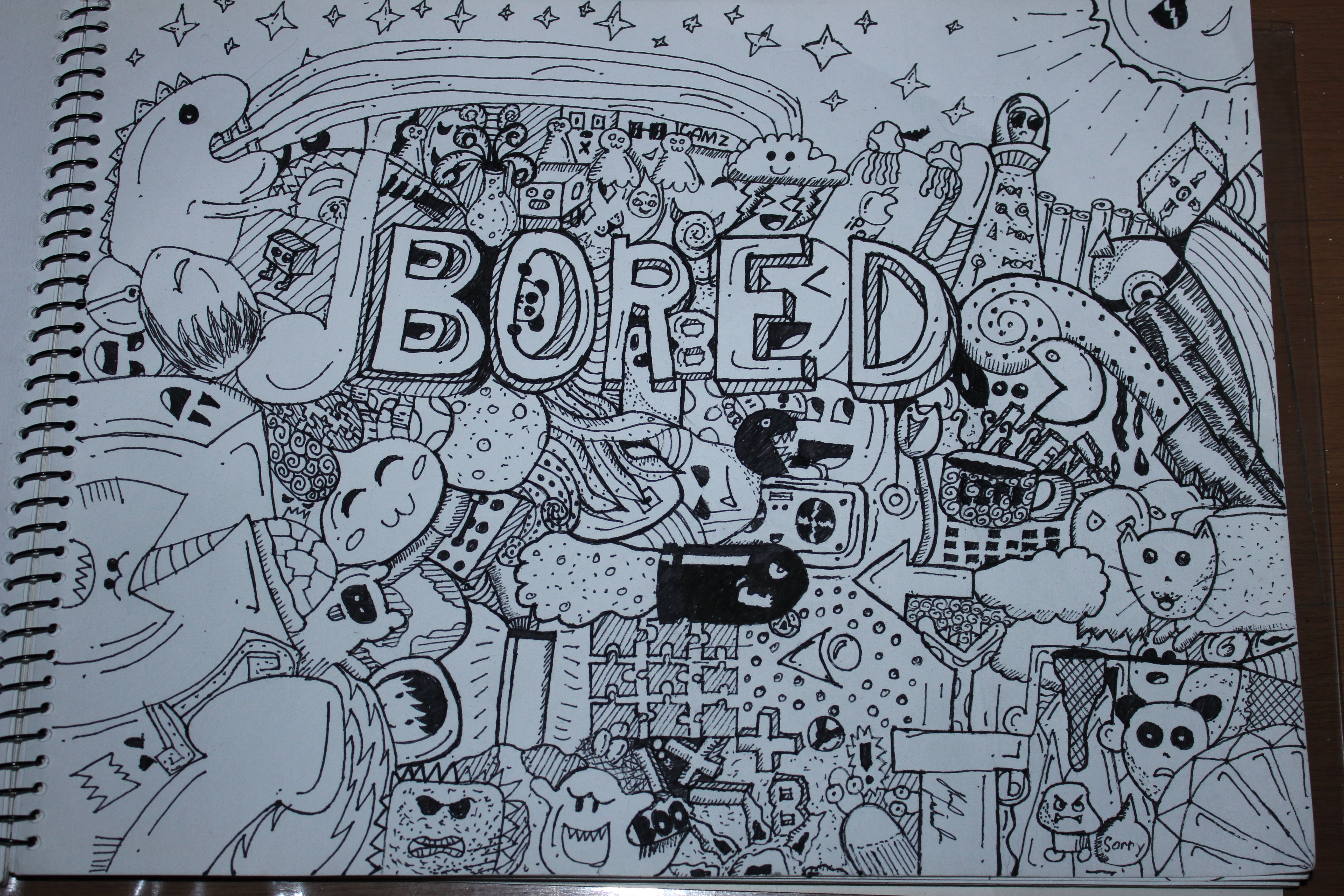 Best What To Draw When Your Bored Cool Ideas Pinterest