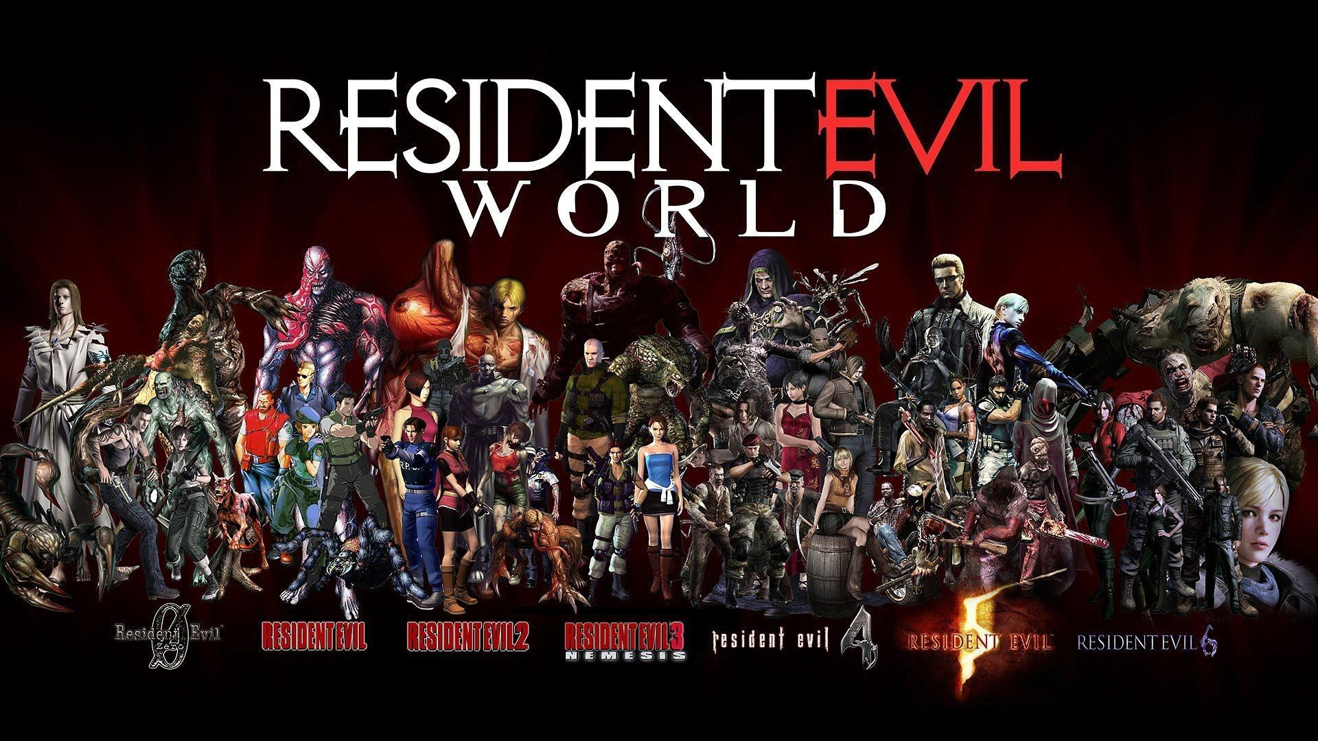 Resident Evil Wallpapers HD Wallpaper | Resident evil, Resident ...
