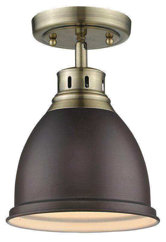 Bodalla 1 light semi flush mount reviews birch lane