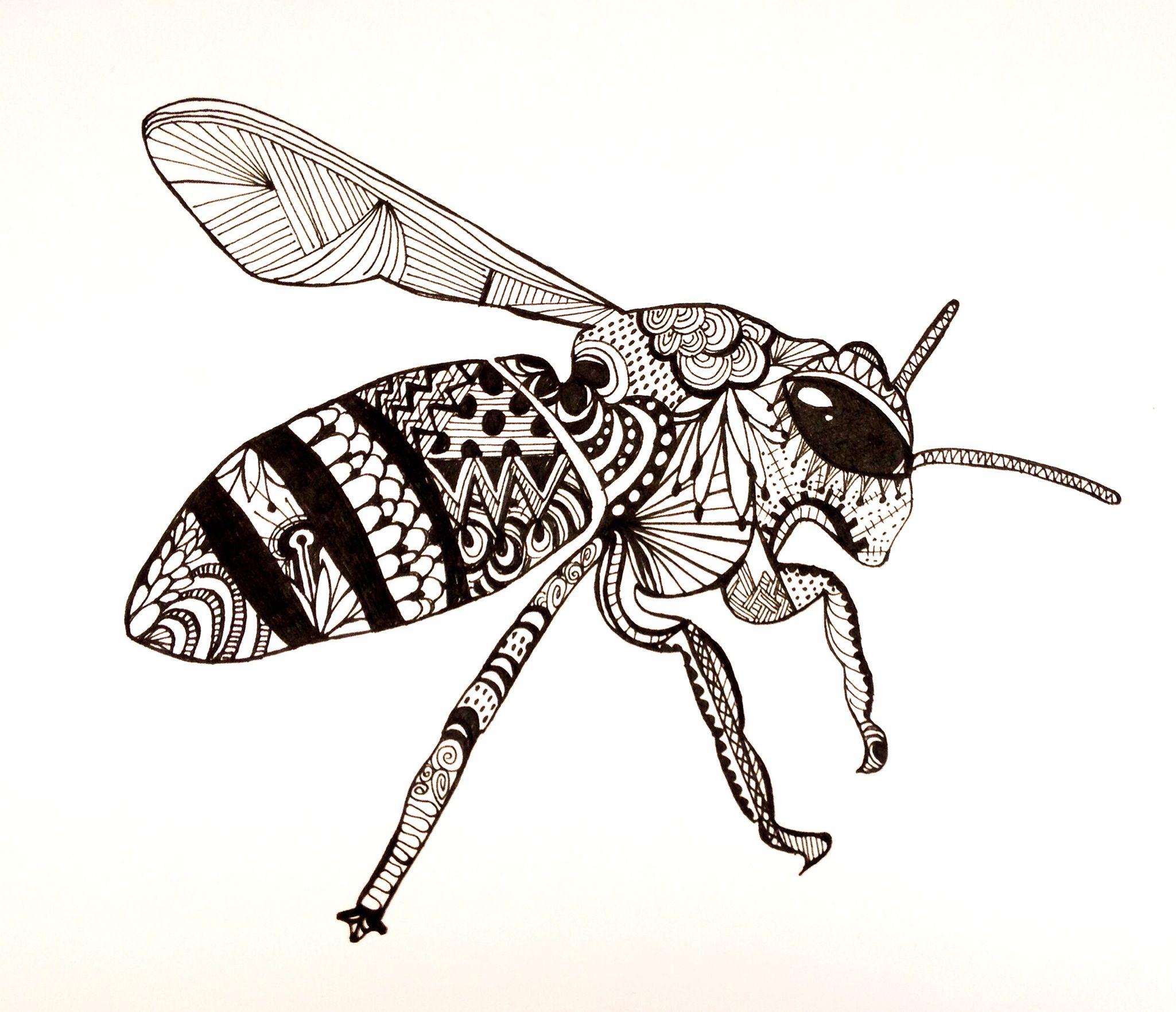пчелы в графике картинки девушки