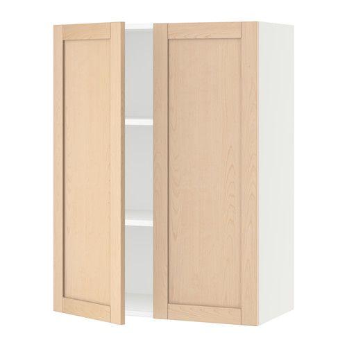 Ikea Sektion Blanc Armoire Murale 2 Portes Frame Colour