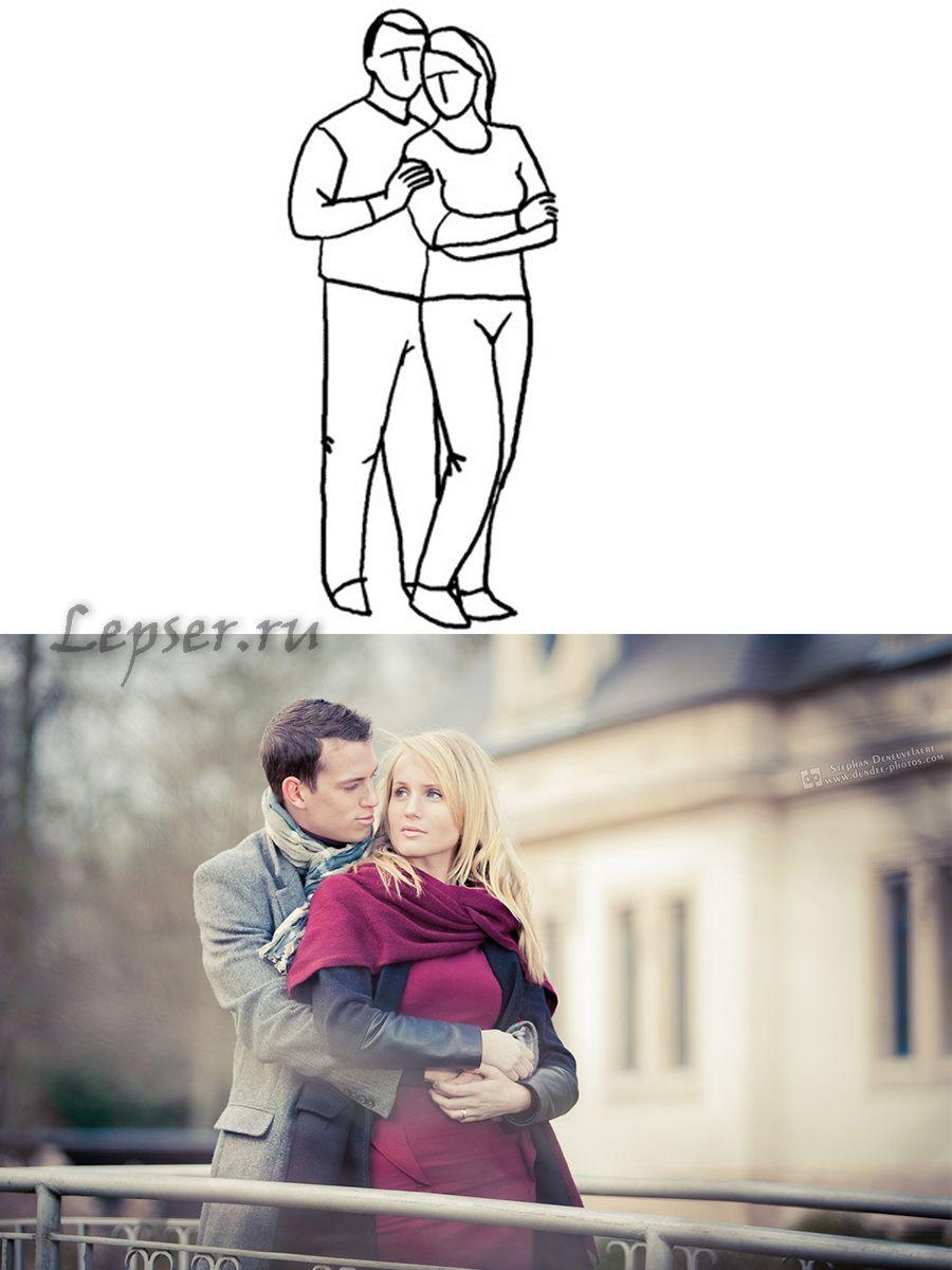 если как сфотографироваться паре самим автор, это