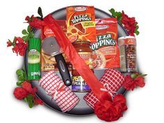IDEAS GIFT BASKETS PIZZA PANS - Google Search | Gift ideas ...