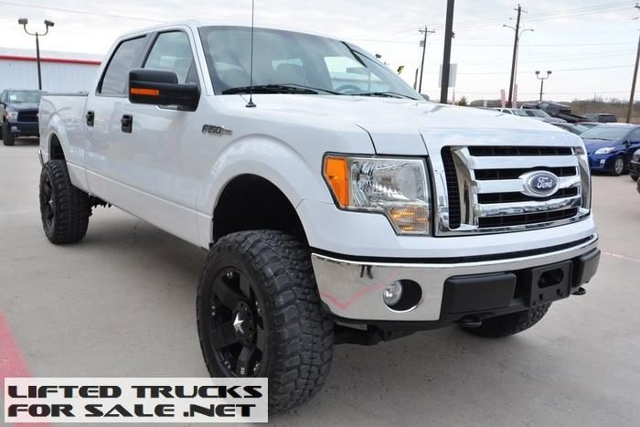 2010 Ford F150 Xlt Supercrew Lifted Truck Trucks Lifted Truck