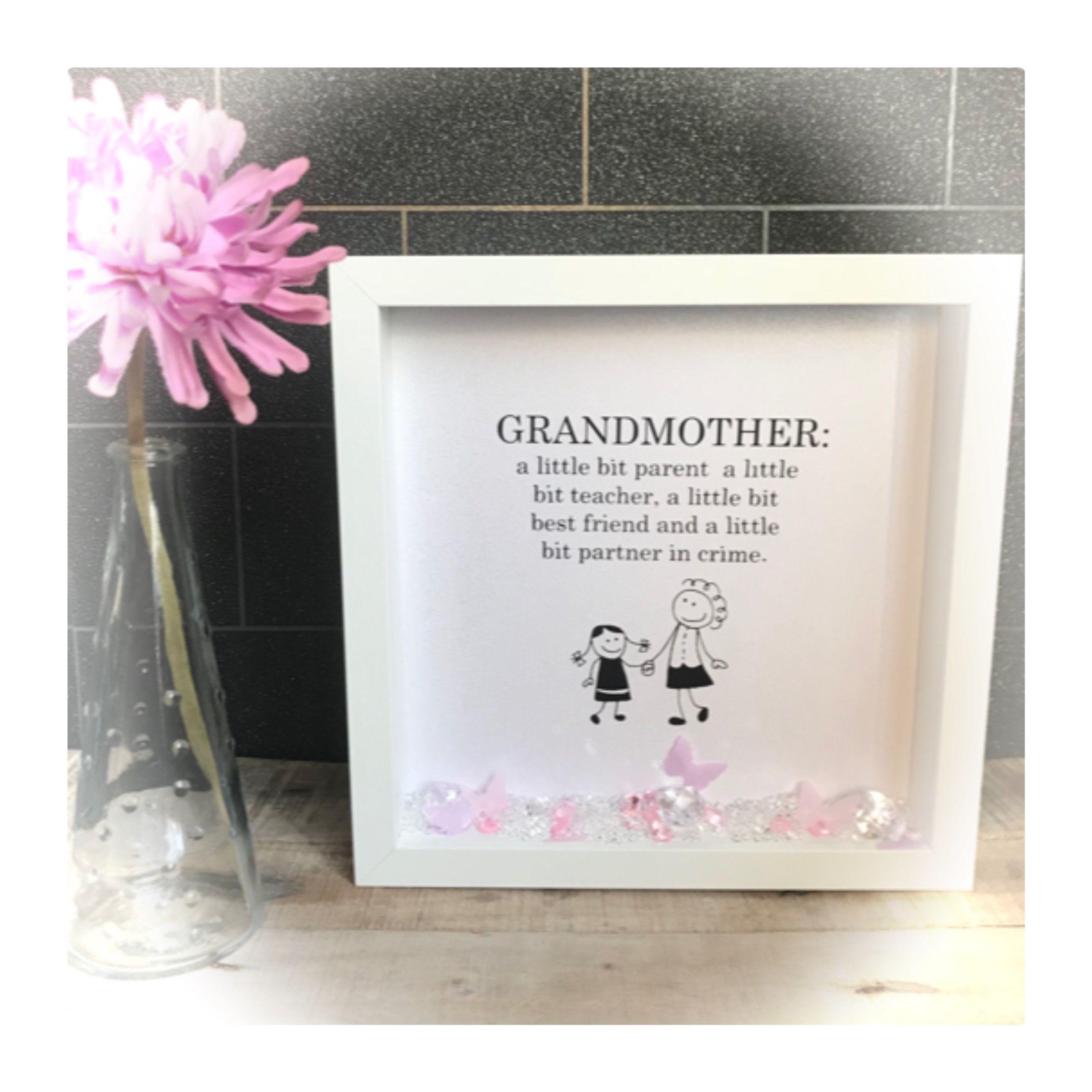 Personalised Pregnancy Announcement Card Mum Nan Nanny Grandmother