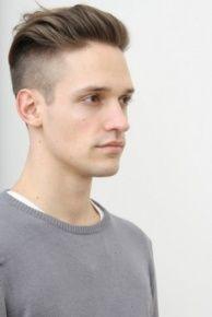 Frisur jungs oben lang seite kurz