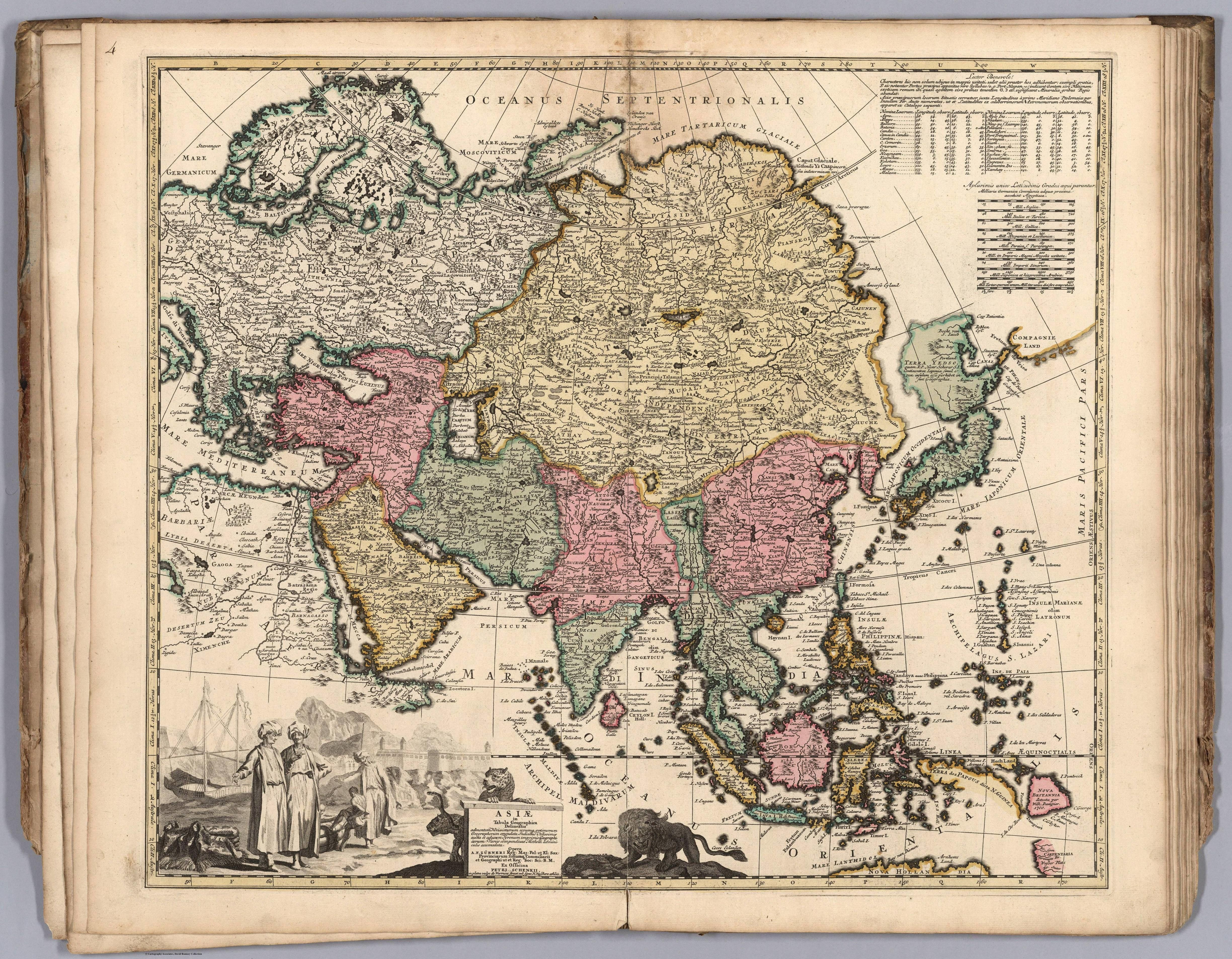 1740 Map of Asia | Maps | Pinterest | Mapas, Banderin y Historia