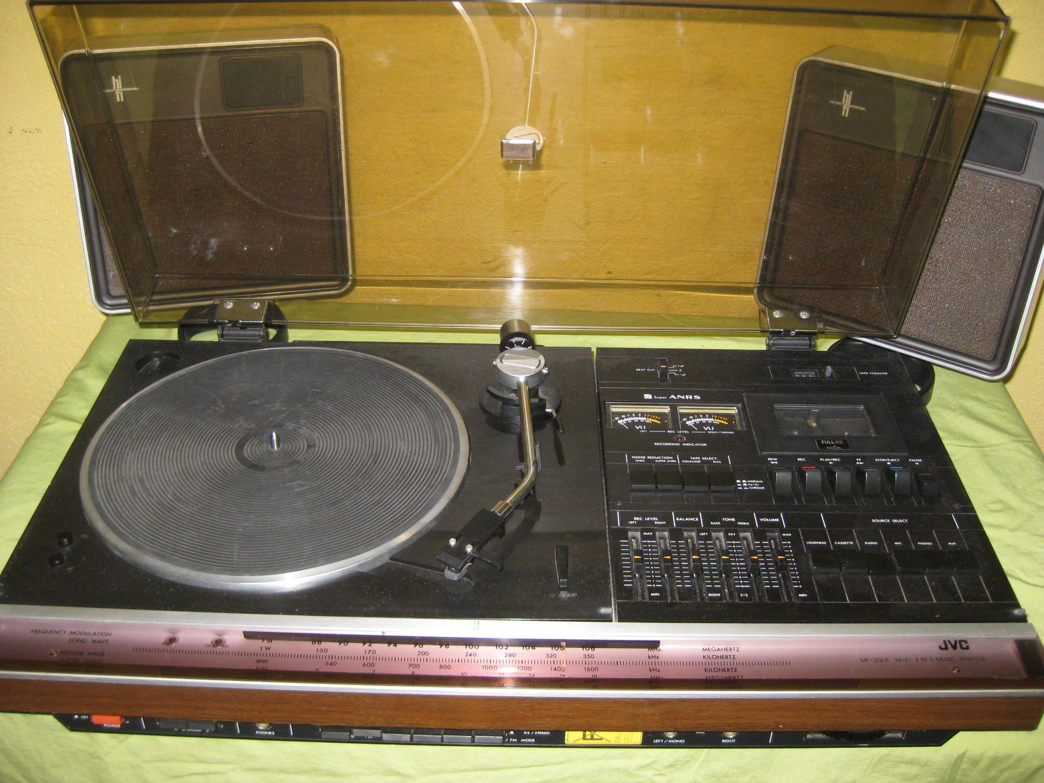 Chaine stereo JVC   Hi Tech AV HA in 2019   Record player