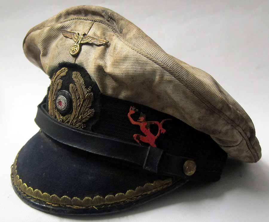 U-Boats ~ Erich Topp's Captain's Cap ~ BFD | History