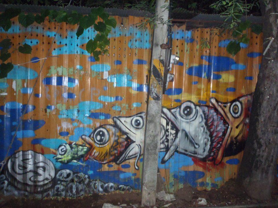 Street Art- Thailand- Photo Journal- Kirsty Tavakoly