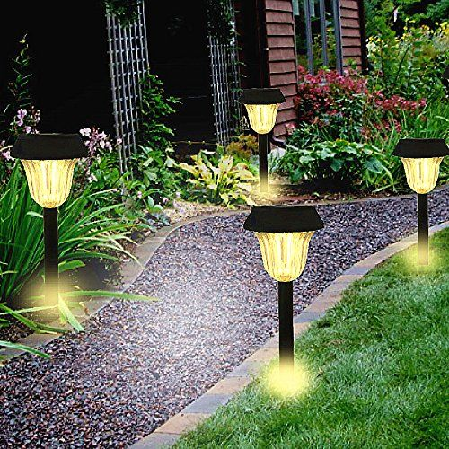 18 33 Be Sure To Check Out This Awesome Product This Is An Affiliate Link Lightin Solar Landscape Lighting Solar Lights Garden Outdoor Garden Lighting