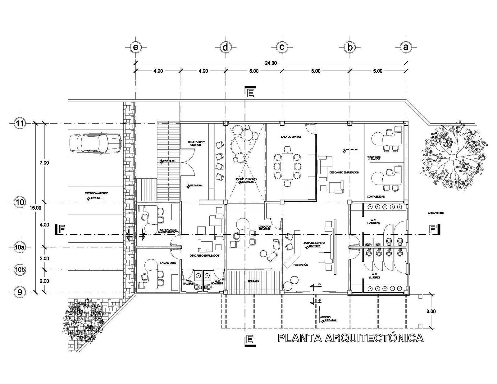 Planos arquitectonicos sena planos de proyecto for Que es un plano arquitectonico
