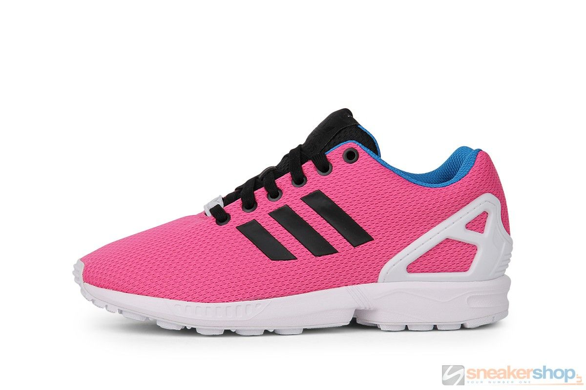 Adidas ZX Flux (Semi Solar Pink/Core Black/Off White) | B34502