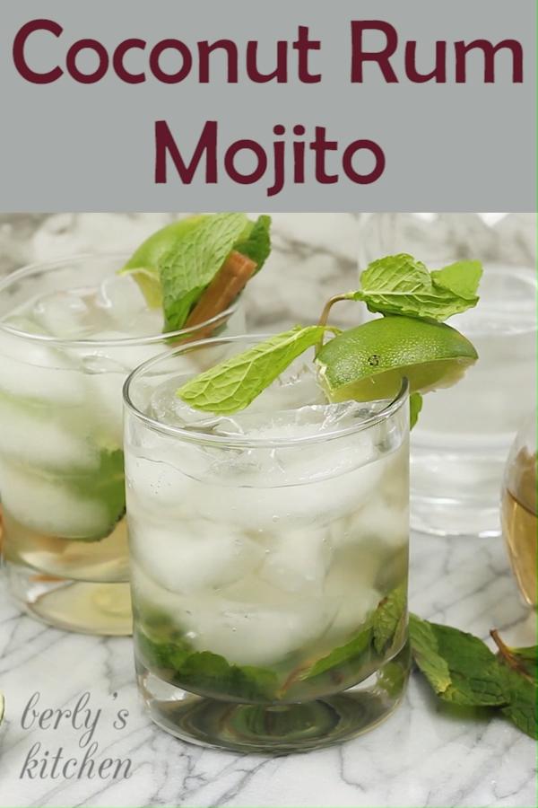 Coconut Rum Mojito