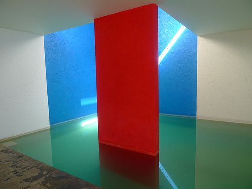 Casa Gilardi Dining Room And Swimming Pool Luis Barragan Architect Colour Architecture Luis Barragan Architect