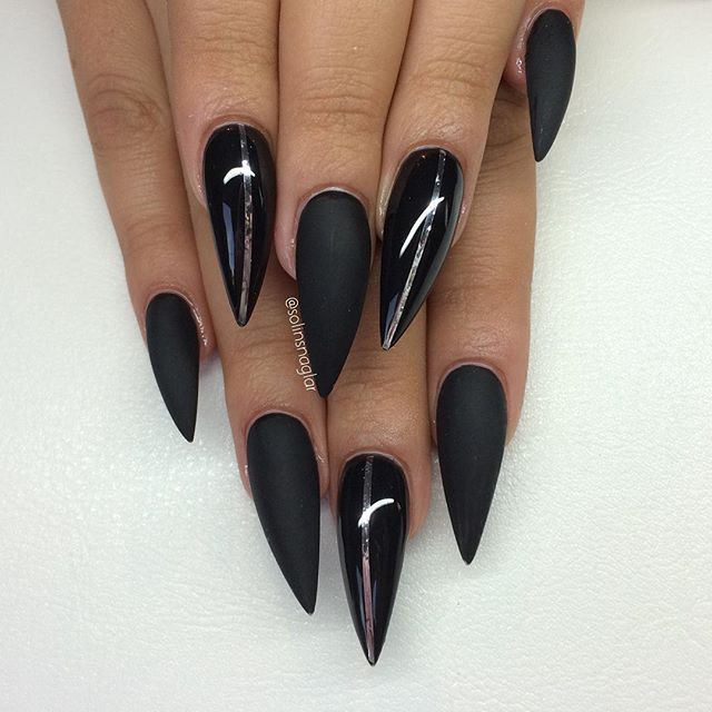 Stiletto nails @KortenStEiN | Stiletto nails | Pinterest | Stilettos ...
