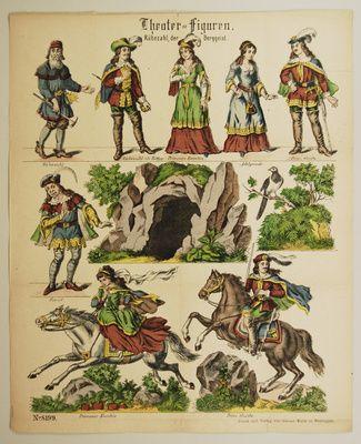 Theater=Figuren. Rübezahl, der Berggeist. No. 8199.