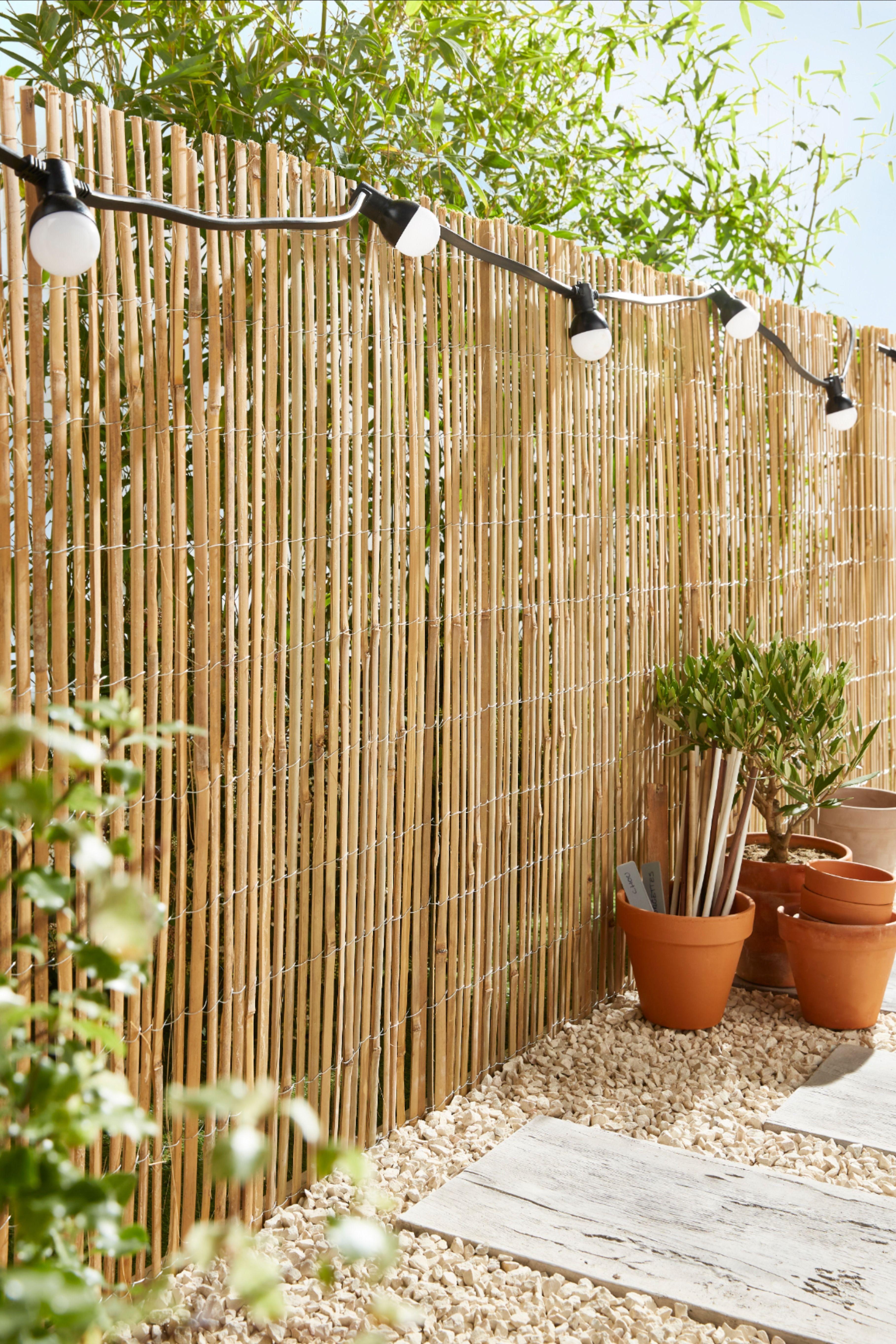 Bambou Fendu 3 X H 1 M En 2020 Bambou Mobilier Jardin Grand Jardin