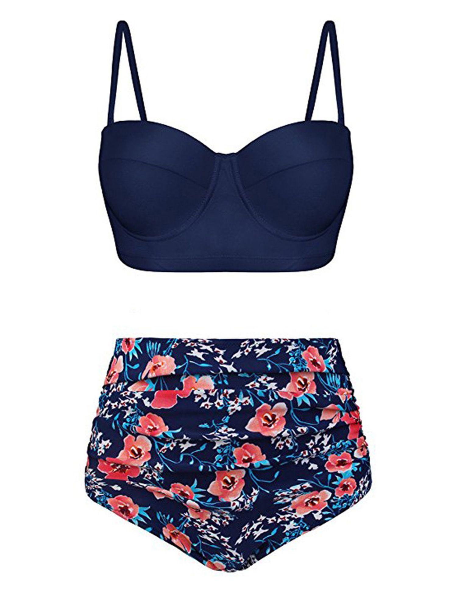 358dfe6f0d Women Sexy Two Piece Push Up Padded Bra Thong Swimsuit High Waist Bikini  Set Swimwear Bathing Suit Swimsuit Beachwear #Ad #Bra, #spon, #Padded, # Swimsuit