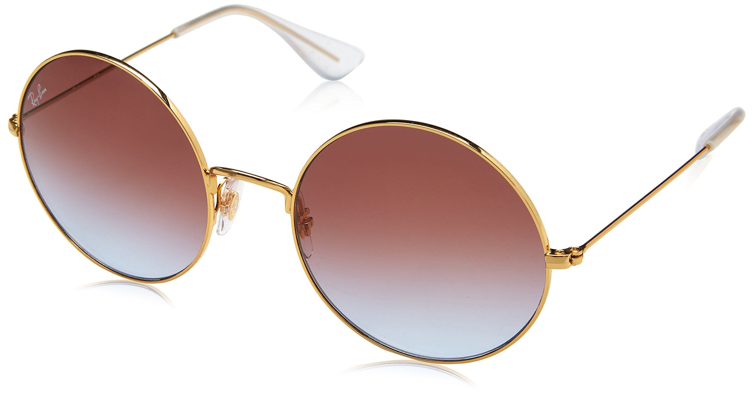 8d2ec9e1f43 Ray ban sunglasses · RayBan Womens JaJo Round Sunglasses Gold 55 mm --  Check out this great product.
