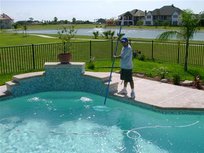 Follow some easy swimming pool cleaning tips provided by Magic ...