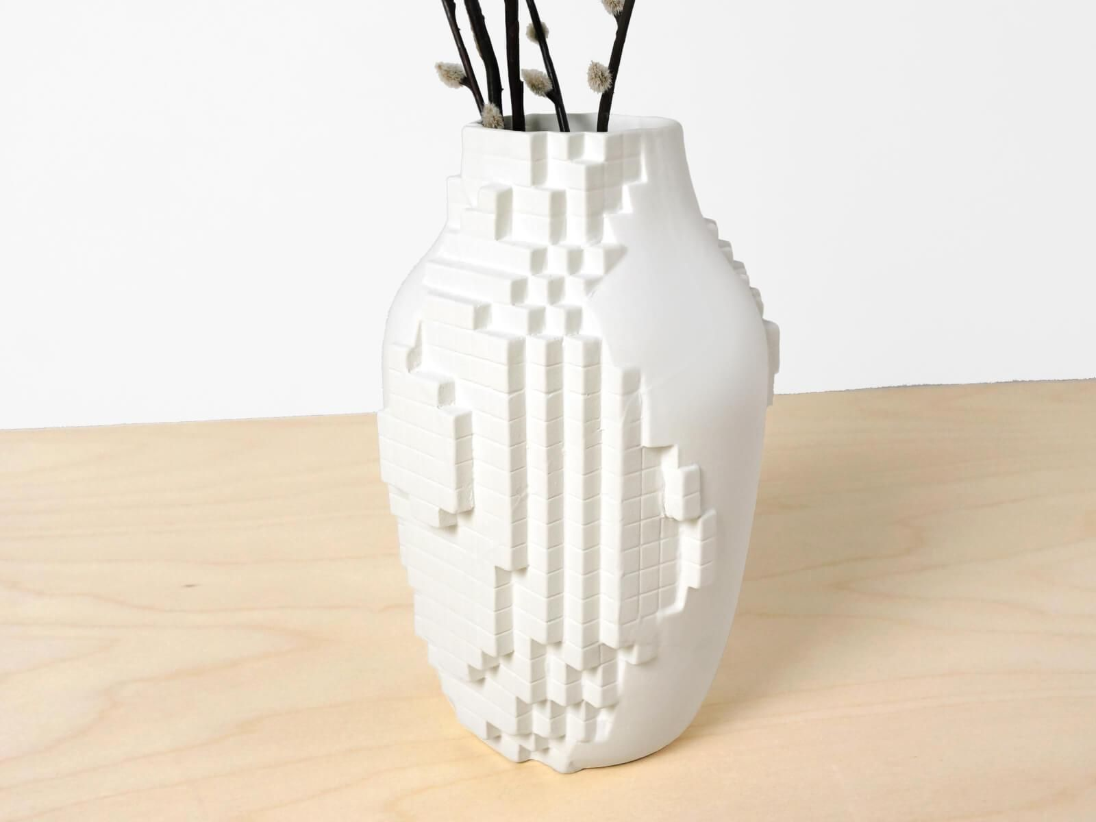 A vase that combines digital and analog in one object the organic a vase that combines digital and analog in one object the organic shape of the reviewsmspy