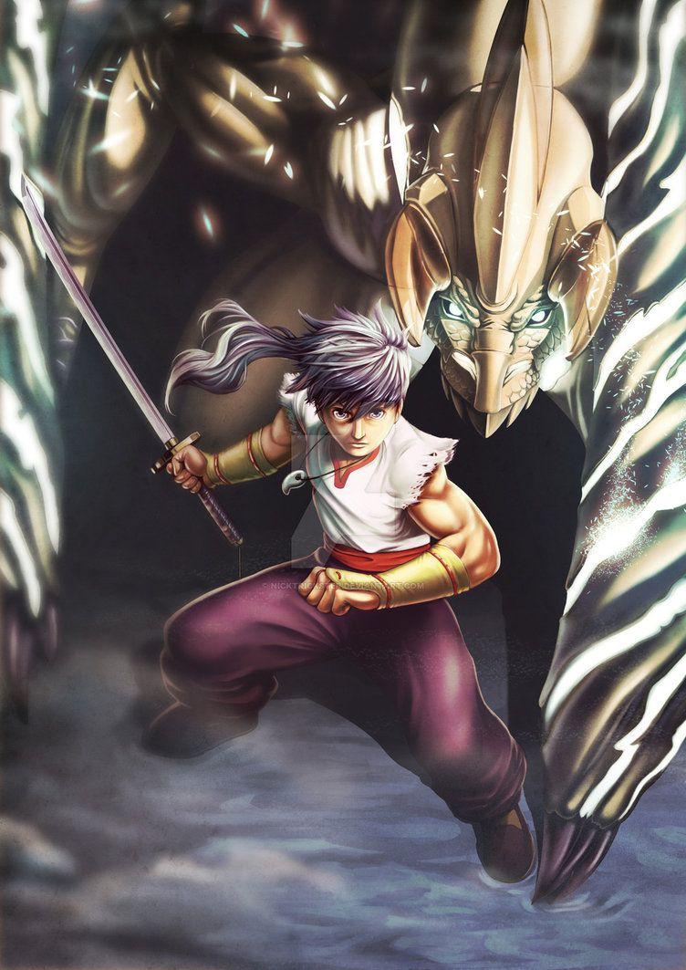 Ryu Breath Of Fire Iv By Nicktrickster On Deviantart Breath Of