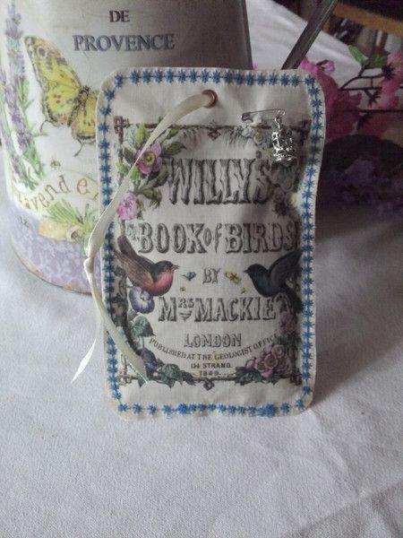 Anhänger Blumen - *~Lavendelsäckchen♥Shabby♥Duftsäckchen♥Nostalgie~* - ein Designerstück von zaubermausHD bei DaWanda