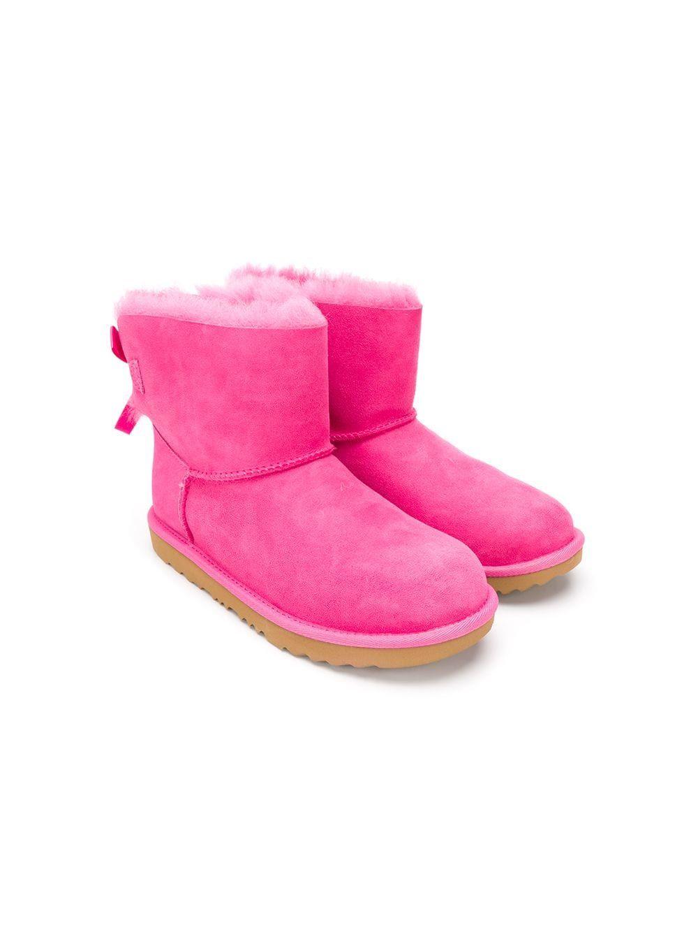 da219223969 Ugg Australia Kids TEEN mini Bailey bow II boots - Pink in 2019 ...