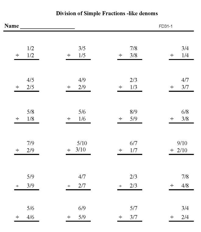 easy work to print | Math worksheets for practice and review working ...