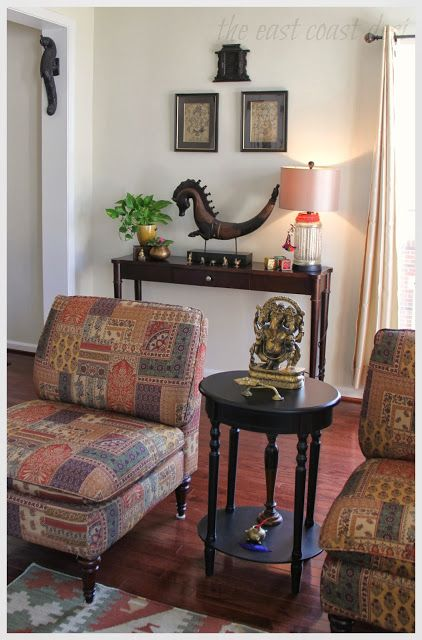 Indian style living room my home global desi style for Living room ideas indian style